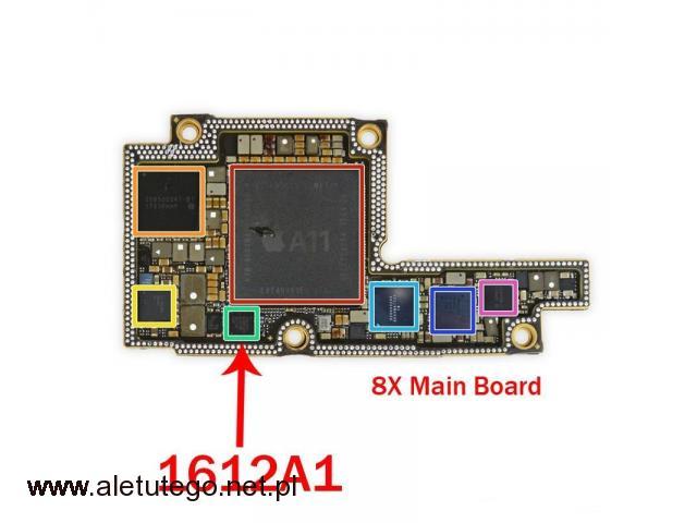 Wymiana układu u2 iPhone Kurier Door To Door - 1/1