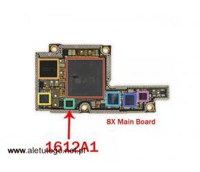 Wymiana układu u2 iPhone Kurier Door To Door