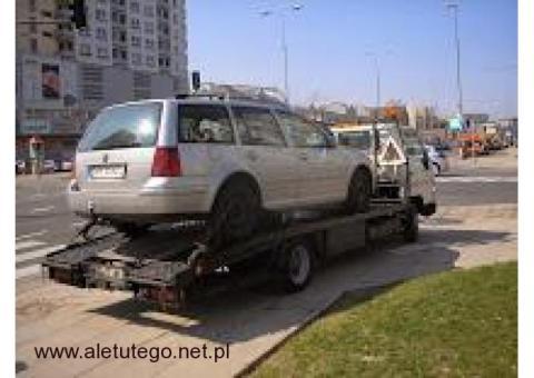 pomoc drogowa calodobowa