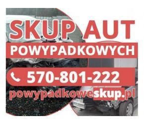 Samochody powypadkowe kupię - Skup aut po wypadku,aut popsutych