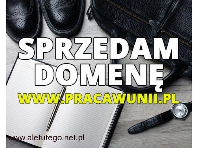 Sprzedam domenę pracawunii.pl , bardzo DOBRA cena - 1/1