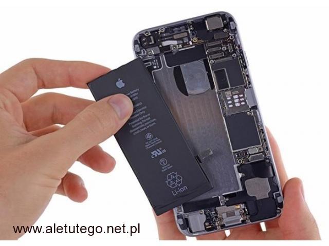 Wymiana baterii iPhone Tanio i szybko Kurier - 1/1