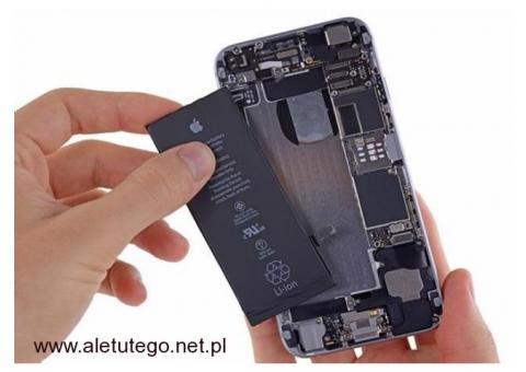Wymiana baterii iPhone Tanio i szybko Kurier