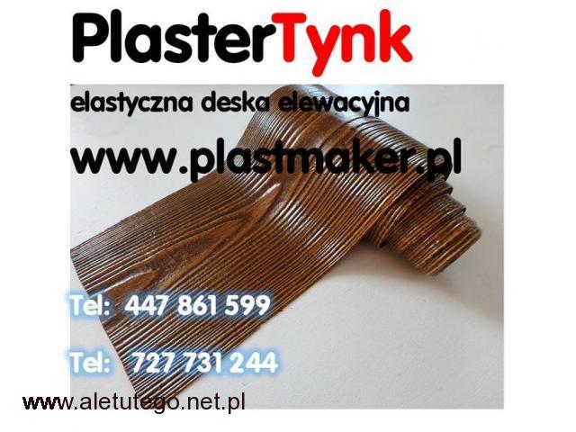 PlasterTynk  - Elastyczna deska elewacyjna , DARMOWY ZESTAW PRÓBEK - 1/1