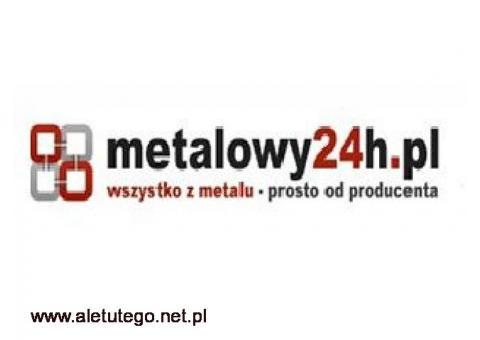 """Odbojnice w niskich cenach """"Metalowy24h.pl"""""""