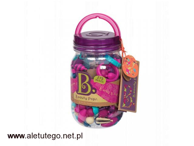 b.toys b.eauty pops zestaw do tworzenia biżuterii 275 elementów - 1/1