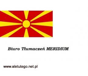 Tłumaczenia macedoński, przysięgłe i zwykłe