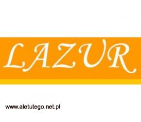 Stylowy leżak składany - sklep LAZUR
