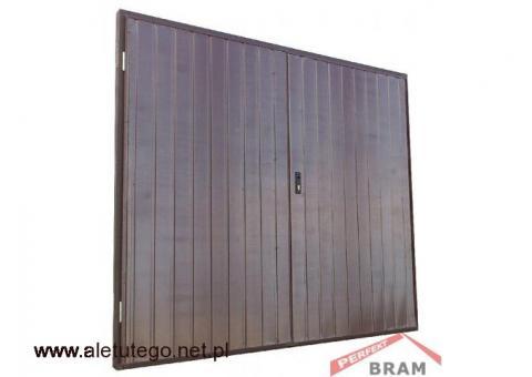 Bramy garażowe uchylne lub dwuskrzydłowe  PerfektBram