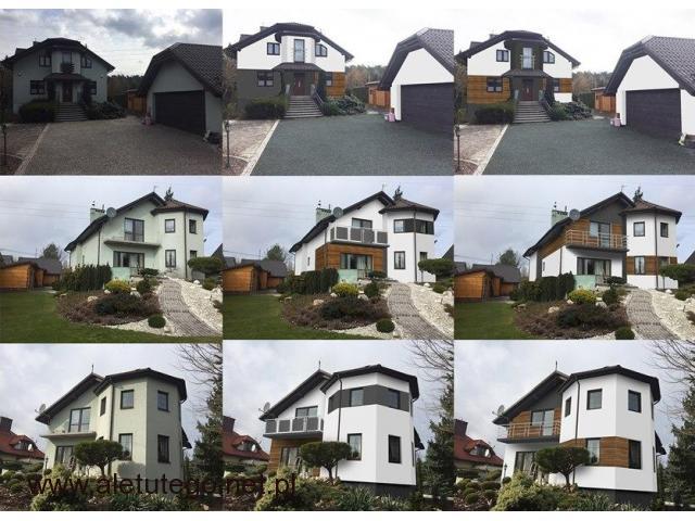 Projekt elewacji / wizualizacja domu / remont / malowanie/ projekty - 1/1