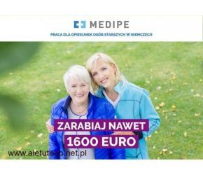 Niemcy, zlecenie dla Opiekunki z prawem jazdy za 1450 EURO,Diepholz