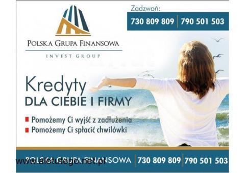 Kredyt dla Ciebie i Firmy, do 200 tys RRSO od 9,89 procent