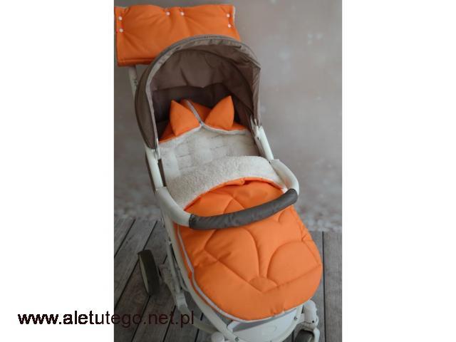 Śpiworki do wózka dla niemowląt | TuTulimy - 1/1
