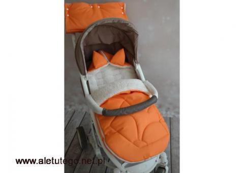 Śpiworki do wózka dla niemowląt | TuTulimy