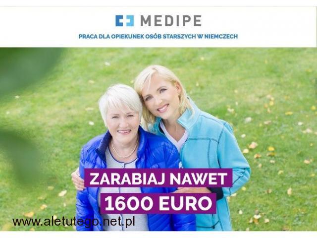 Opiekun lub Opiekunka Niemcy,1465 EURO z własnym mieszkaniem - 1/1