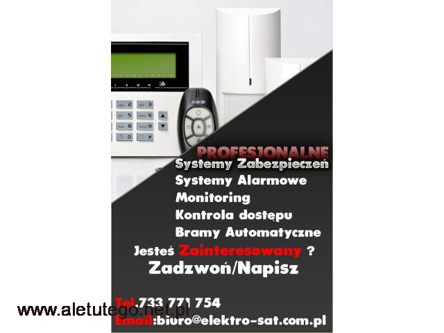 Montaż monitoringu, kamer, systemy alarmowe Łobez - 1/1