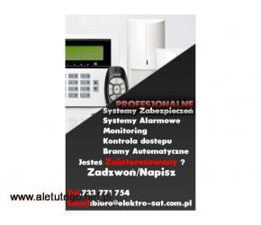 Montaż monitoringu, kamer, systemy alarmowe Łobez