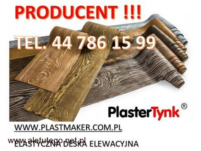 PlasterTynk - Elastyczna Deska Elewacyjna / Dekorlux ,Dekostyl, Perfectstyr, Dekordeska