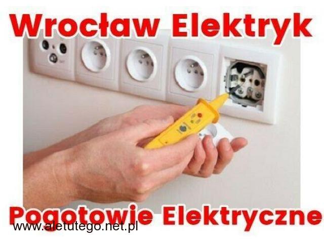 Elektryk Wrocław 24 / Pogotowie Elektryczne Całodobowe / Serwis Elektryczny - 1/1