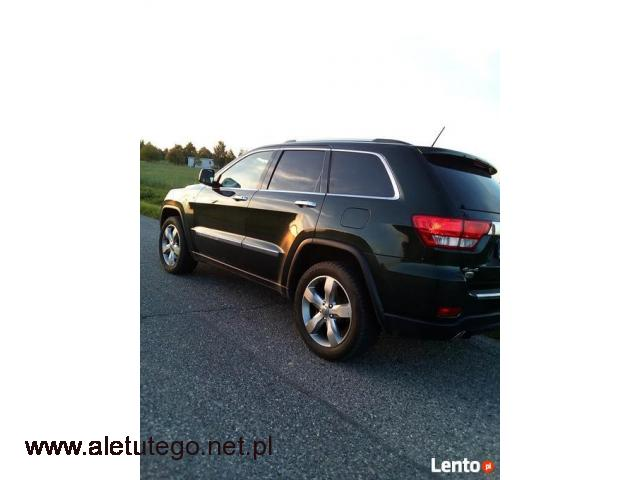 Auto do ślubu - Jeep Grand Cherokee Overland - 1/2