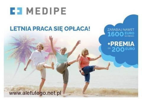 Niemcy, Opiekunka do mobilnej Seniorki, samodzielnej i wesołej, zlecenie z PREMIĄ