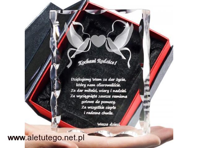 Kryształ 3D na Prezent dla Rodziców w dniu Twojego ślubu! - 2/2