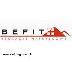 Terminowa realizacja ocieplania pianą - Befit