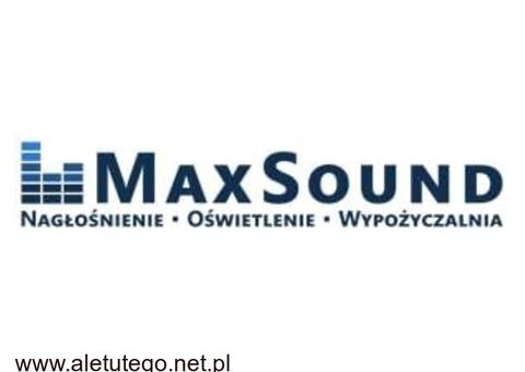 MaxSound – obsługa techniczna imprez w Trójmieście