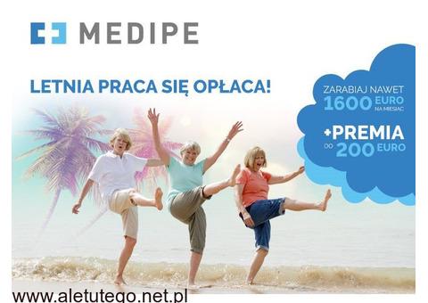 Oferta do opieki (Niemcy) nad samotnym Seniorem, 1350 EURO miesięcznie
