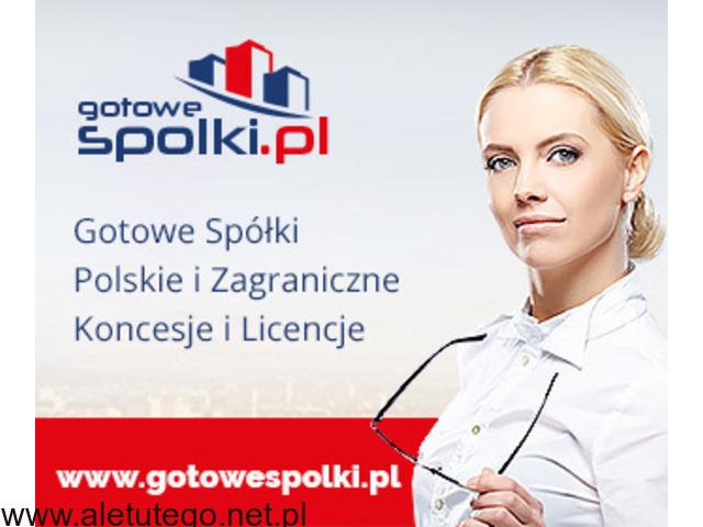 GOTOWE SPÓŁKI Z LICENCJĄ NA TRANSPORT MIĘDZYNARODOWY 603557777 , KONCESJE OPC - 1/1