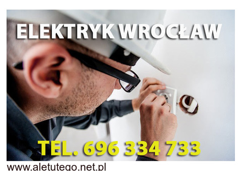 Elektryk Wrocław 24h pogotowie elektryczne z uprawneniami