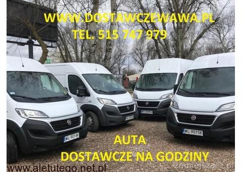 Auta dostawcze – tanio,  Warszawa