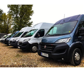 Wypożycz samochód dostawczy kontener furgon - tanio