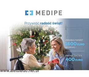 Praca w opiece w Niemczech , 400 EURO premii świątecznej