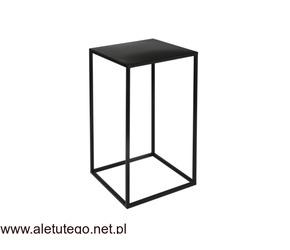 Kwietnik metalowy LOFT 40 cm stojak