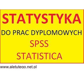 Części badawcze i analiza statystyczna m.in. do prac licencjackich, magisterskich, doktorskich