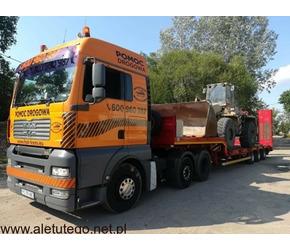 Transport niskopodwoziowy maszyn budowlanych rolniczych poznań