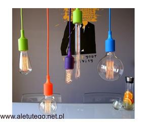 Lampa wisząca loft neonowa   Imindesign