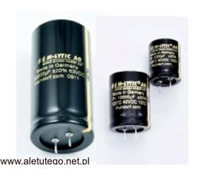 Kondensatory elektrolityczne