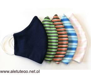 maseczki ochronne wielokrotnego użytku