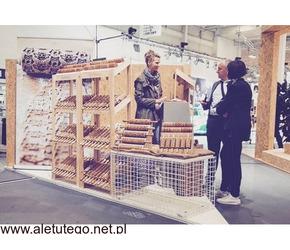 Wałek drewniany do ciasta z kotami – Stodola