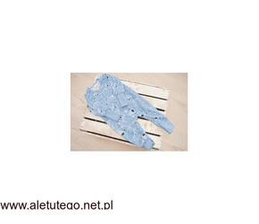 Niebieski pajacyk bez stópek w misie | Robik