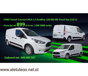 FORD Transit Connect MCA 1.5 EcoBlue 120 KM Trend Van 210 L2