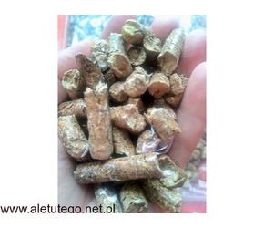 Pellet drzewny przemysłowy ( badany )