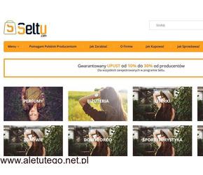 Seltu.com - własny biznes odzież