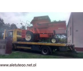 Transport maszyn budowlanych i rolniczych - Fast-Trans Poznań