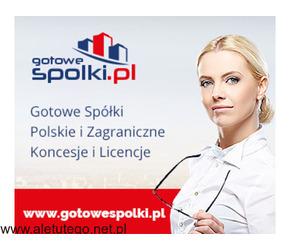 Sprzedam spółki z Licencją na spedycje i transport 603557777 KONCESJE PALIWOWE OPC, spółki zagranicz