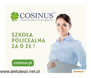 Bezpłatna Szkoła Policealna Cosinus- sprawdź Nas!