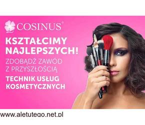 Kosmetyczka w Szkole Cosinus. Zdobądź ciekawy zawód! Rekrutacja trwa!
