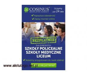 Zdobądź zawód z przyszłością w Cosinusie! Rekrutacja trwa!